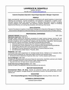 Import specialist resume resume ideas for Import resume into template