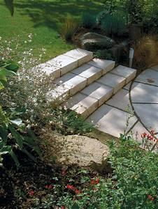 Comment Faire Des Marches Dans Un Talus : escalier en pierre construire un escalier en pierre ~ Melissatoandfro.com Idées de Décoration