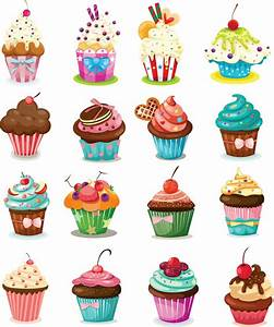 Cartoon cream cake cup vector material cartoon,cream,cake ...