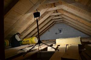 Izolace stropu vatou