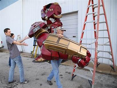 Hulkbuster Culture Pop Tulsa Armor Iron Prior