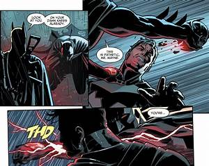 Batman VS Fake Batman (Injustice II) | Comicnewbies