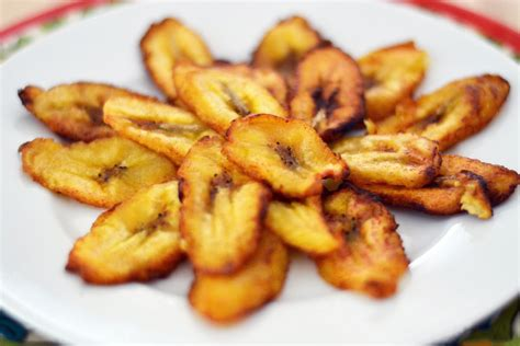fried plantain tajadas fried sweet plantain slices