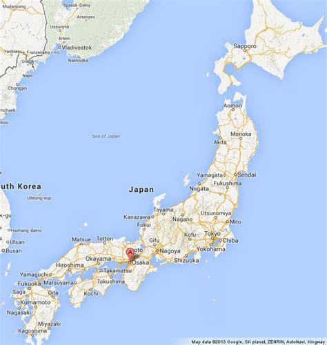 osaka  map  japan