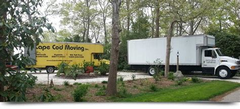 Local Cape Cod Movers And Surrounding Areas