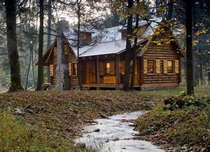 Rustic Cabin in the Woods « The Log Builders