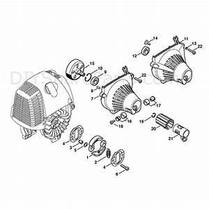 Stihl Fs 100 Brushcutter  Fs 100 Rx  Parts Diagram  Clutch