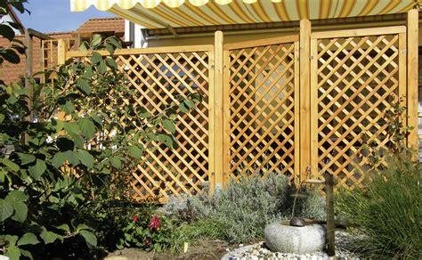 Sichtschutz Garten Rankgitter by Rankgitter Aus Holz Sichtschutzzaun Bvrao