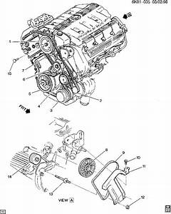 1999 Cadillac Deville  The Water Pump  U0026 The Power Steering