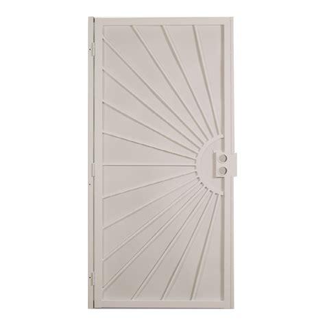 lowes security doors enlarged image