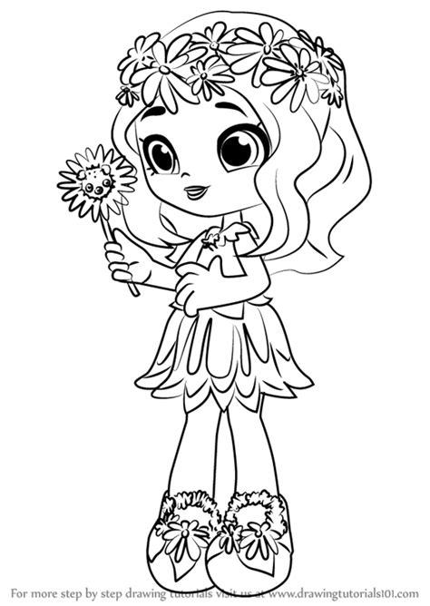 learn   draw daisy petals  shoppies shoppies step  step drawing tutorials