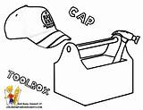 Tool Box Coloring Pages Tools Clipart Toolbox Construction Drawing Template Clip Wrench Hand Coping Easy Garden Getdrawings Wrenches Belt Panda sketch template