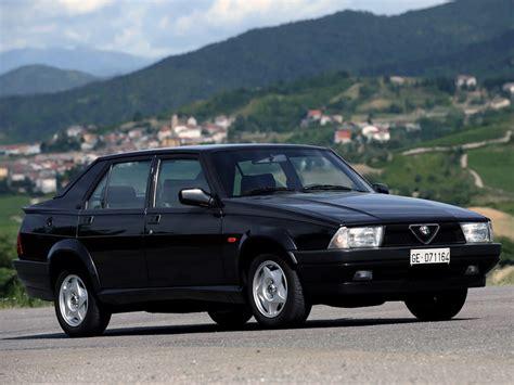 alfa romeo 75 (162b) 1991 - Auto-Database.com