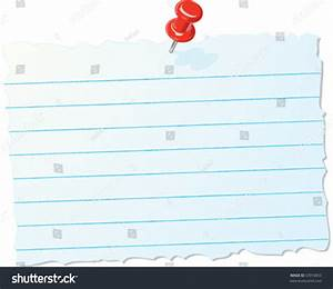 Torn Paper Note Stock Vector Illustration 53910655 ...