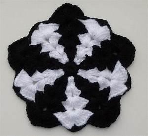 Thick Pentagon Crochet Afghan Block Motif Crochet Pattern