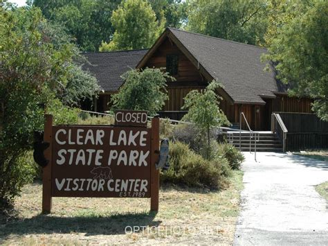 clear lake state park visitor center a california