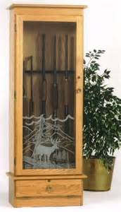 glass door gun cabinet plans plans free