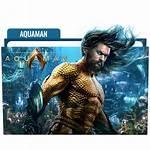 Aquaman Folder Icon Icons Designbust