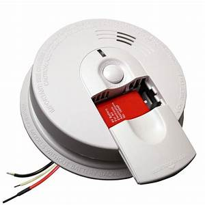 Firex Hardwire Smoke Detector With 9v Battery Backup And