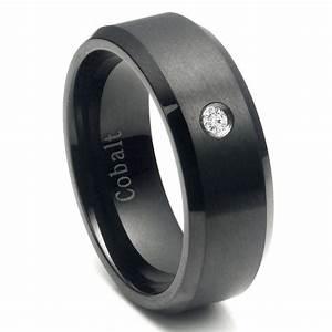 Mens Wedding Bands Tungsten Vs Titanium Cobalt Mini Bridal