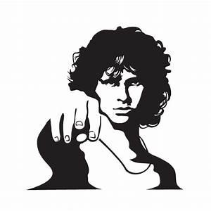 Vinilos musicales de paredes Jim Morrison