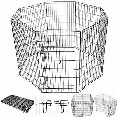 Dog Fence Indoor Pet Playpen Panel Exercise