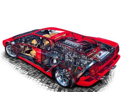 lamborghini diablo  cars supercars technical cars