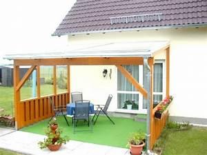 Terrassenüberdachung Freistehend Selber Bauen : welches material f r das terrassendach tragsystem ~ Watch28wear.com Haus und Dekorationen