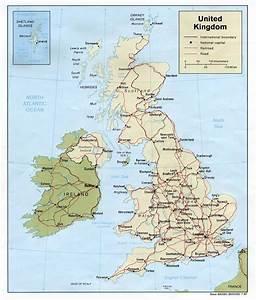 United Kingdom Political Map 1987 Full size