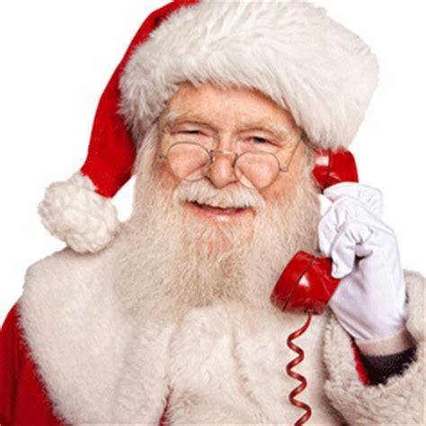 santa claus phone call meet the newest on santa digital media events