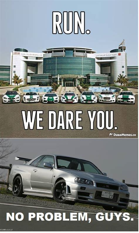 Dubai Memes - z tune out running dubai police forces