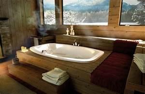 Badewanne Mit Holzverkleidung : ideen f r badgestaltung badewanne design wird zum blickfang im bad ~ Sanjose-hotels-ca.com Haus und Dekorationen