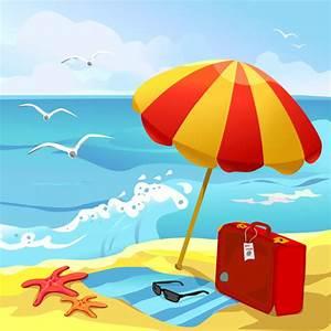 Summer beach travel clip art free vector download (215,117 ...
