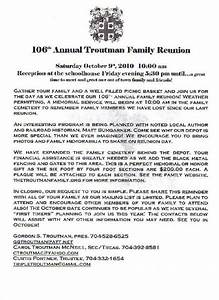 sample family reunion letters the best letter sample With family reunion letter