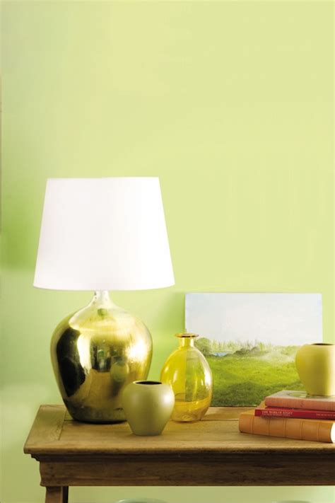 yellow green paint color eclectic living room benjamin wales green kansas city
