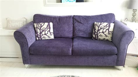 Dfs 3 Seater Sofa Bed by Dfs Purple 3 Seater Sofa Bed Armchair In Camden