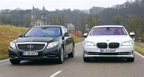 mercedes vs bmw ads mercedes benz s 500 vs bmw 750i by auto bild autoevolution