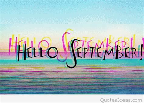 september images sayings