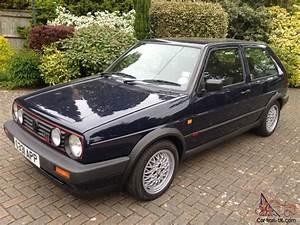 Golf 2 Gti 16v : volkswagen golf mk2 gti 16v 1990 g reg immaculate ~ Jslefanu.com Haus und Dekorationen