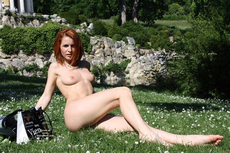 Redhead Nude In Public May Voyeur Web Hall Of Fame