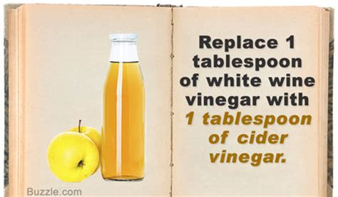 can i substitute apple cider vinegar for white vinegar unique substitutes for white wine vinegar you didn t know existed