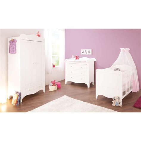 chambre lit blanc chambre bébé fleur blanc lit évolutif commode achat