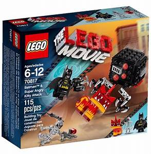 2015 LEGO Movie Batman & Super Angry Kitty Attack 70817 ...