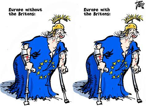 cartoonists draw brexit politico