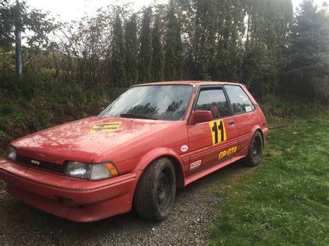 toyota corolla rally car deadclutch