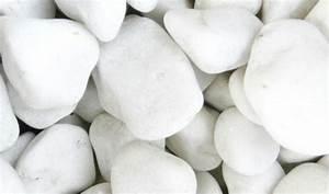 Galet Marbre Blanc : galets tous les fournisseurs galet de marbre galet de verre galet de riviere galet ~ Nature-et-papiers.com Idées de Décoration