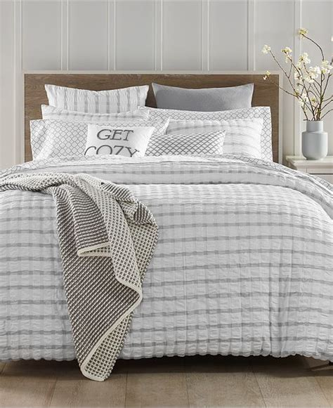 seersucker bedspreads charter club seersucker bedding collection created for macy s reviews bedding collections