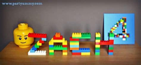anniversaire lego deco prenom tete anniversaire lego