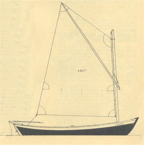 Sailing Boat Plans by Small Dory Boat Plans Sailing Build Plan
