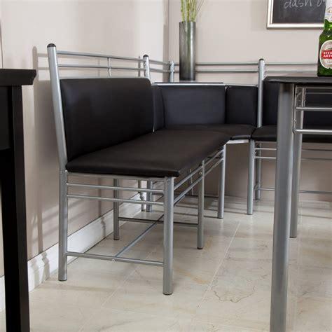 corner bench dining table set dining table set 5 piece modern bench kitchen corner metal